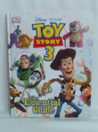 Adorable Disney Pixar 'Toy Story 3' The Essential Guide Hardback Book